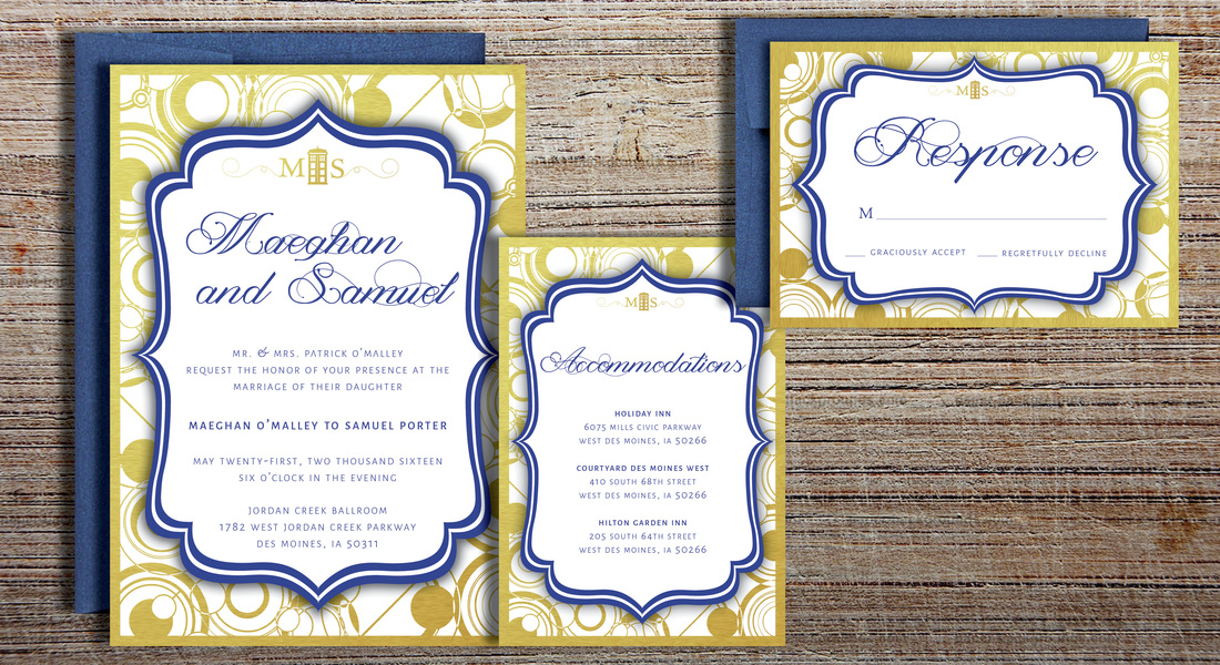 Rosey Paperie   Invitation Designs